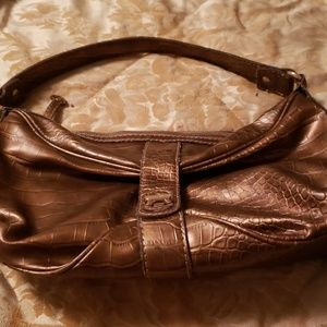 DANA BUCHMAN BRONZE COLOR BAG